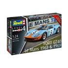 Plastic ModelKit auto 07696 - Ford GT 40 Le Mans 1968 (1:24)