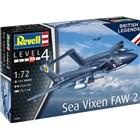 Plastic ModelKit letadlo 03866 - Sea Vixen FAW 2