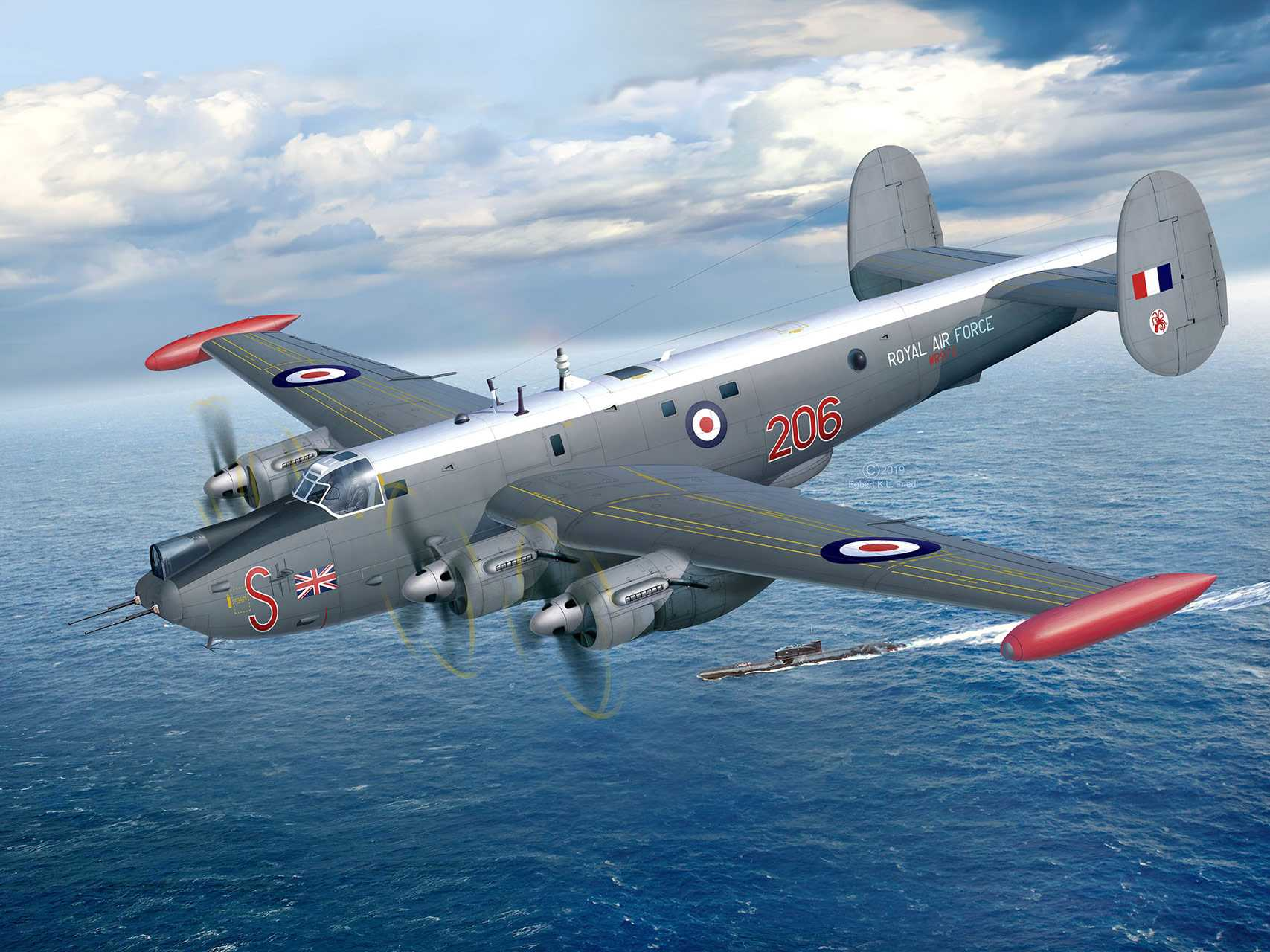 1:72 Avro Shackleton MR.3