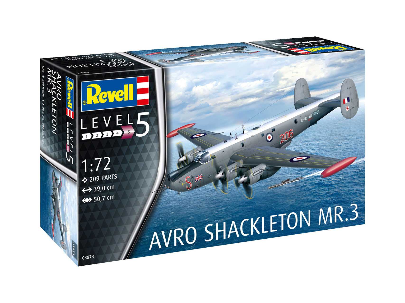 Náhľad produktu - 1:72 Avro Shackleton MR.3