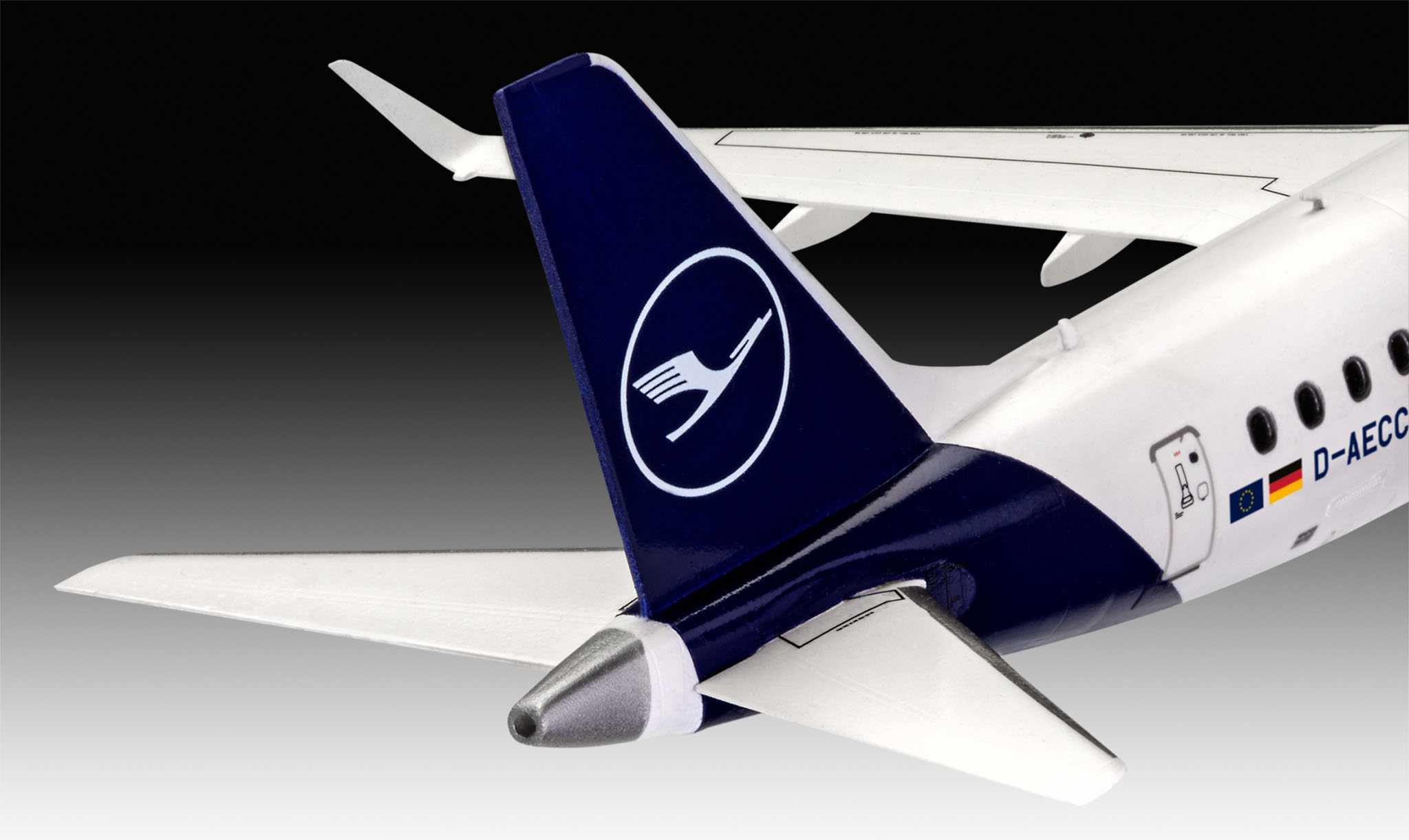 1:144 Embraer 190, Lufthansa New Livery