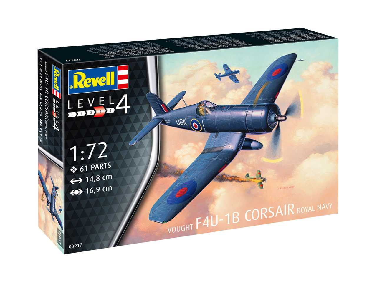1:72 Vought F4U-1B Corsair, Royal Navy