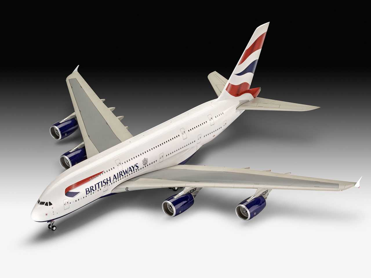 1:144 Airbus A380-800, British Airways