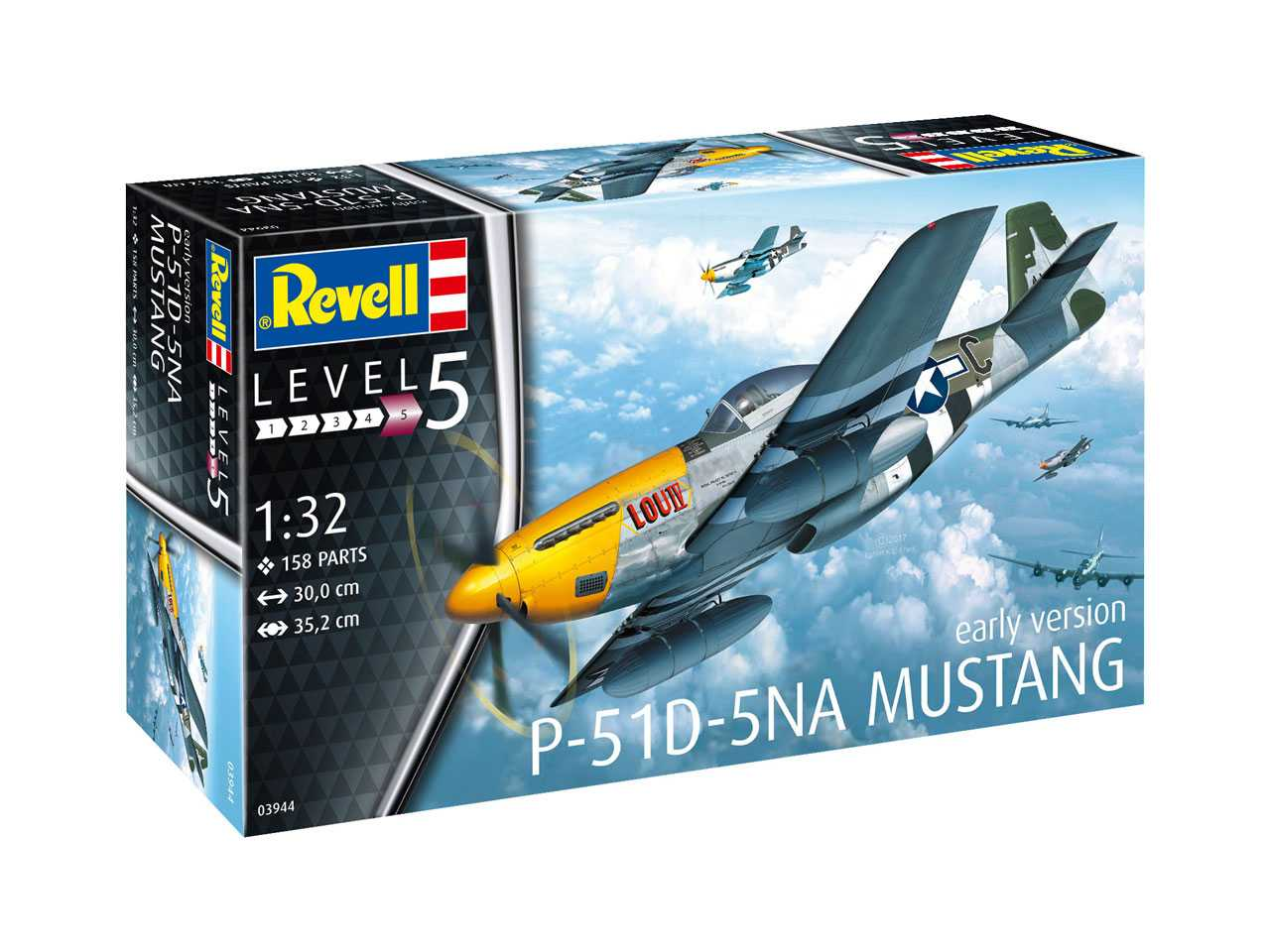 1:32 North American P-51D-5NA Mustang (Early Version)