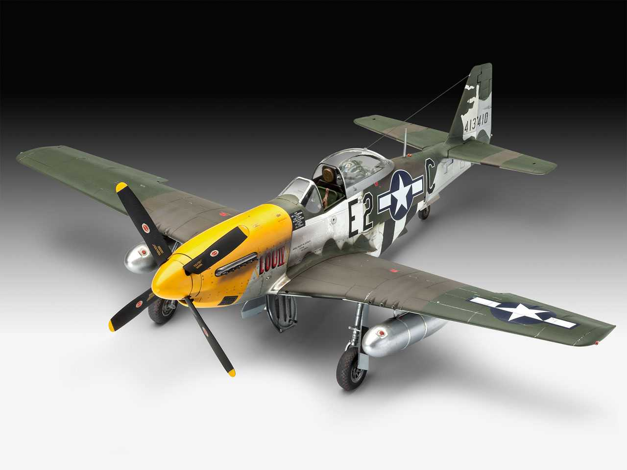 09be20687 1:32 North American P-51D-5NA Mustang (Early Version) ...