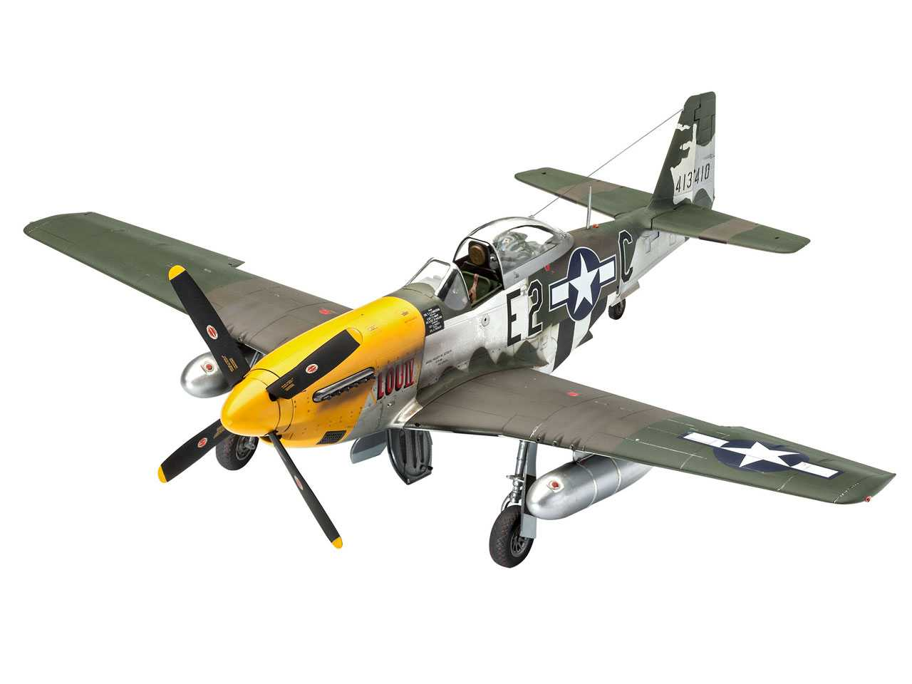 c998e09aa ... 1:32 North American P-51D-5NA Mustang (Early Version) ...