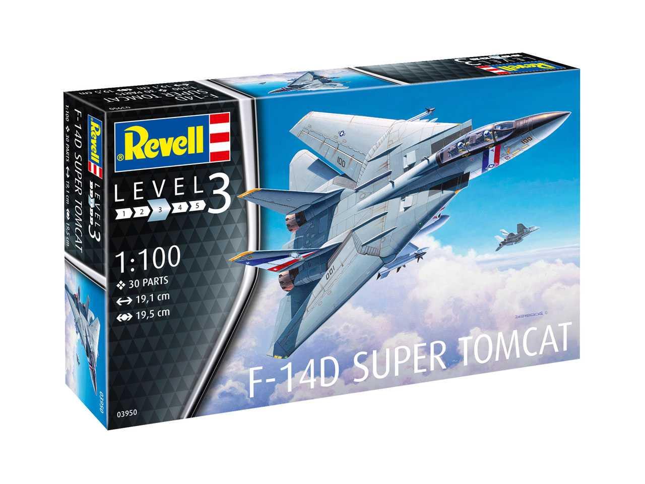 Náhled produktu - 1:100 Grumman F-14D Super Tomcat