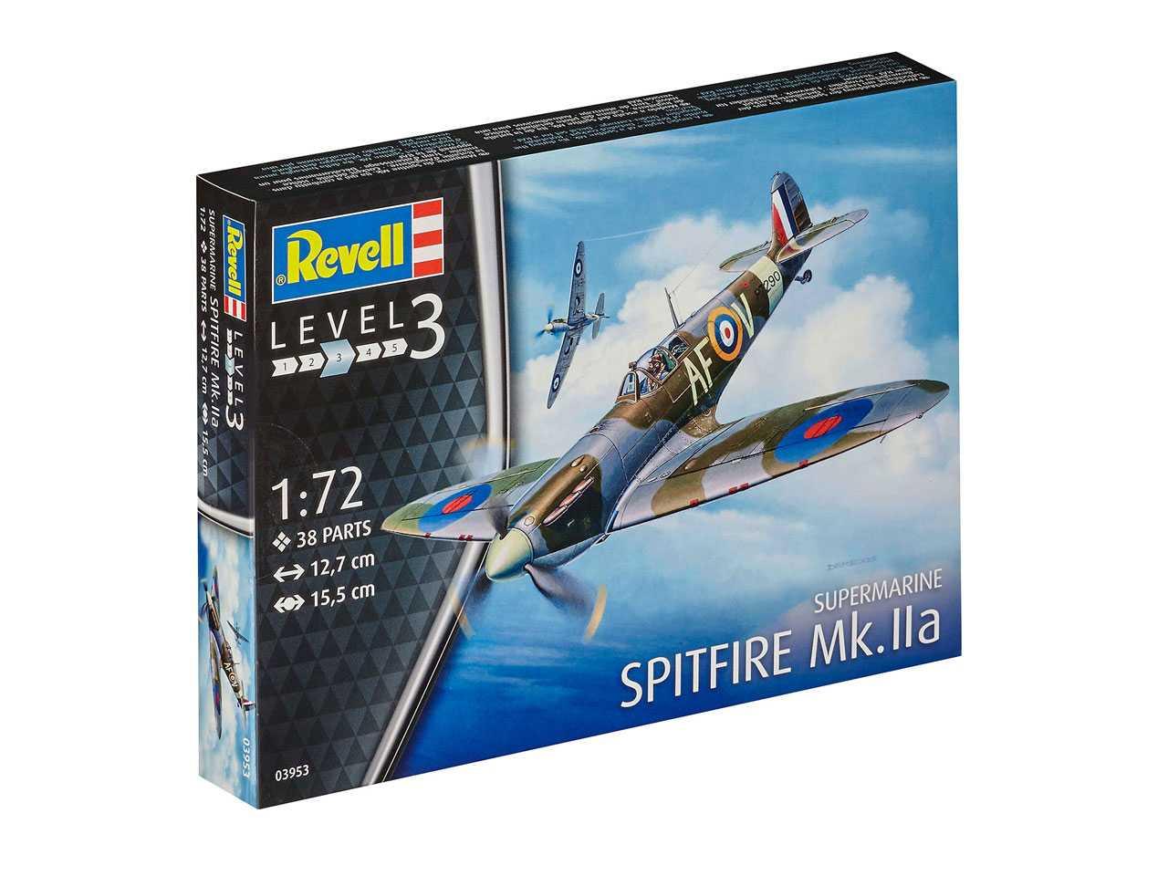 1:72 Supermarine Spitfire Mk.IIa