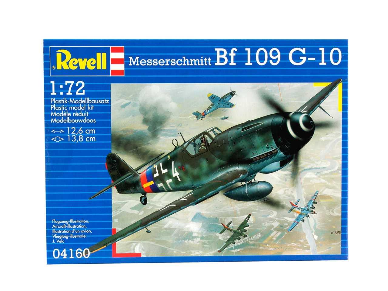 1:72 Bf 109 G-10 Messerschmitt