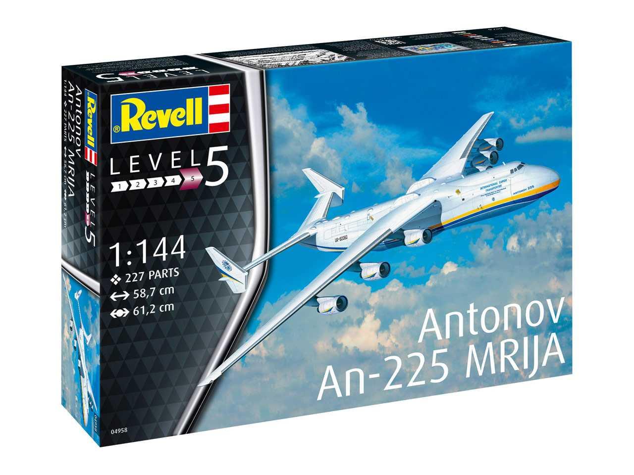 Náhľad produktu - 1:144 Antonov An-225 Mrija