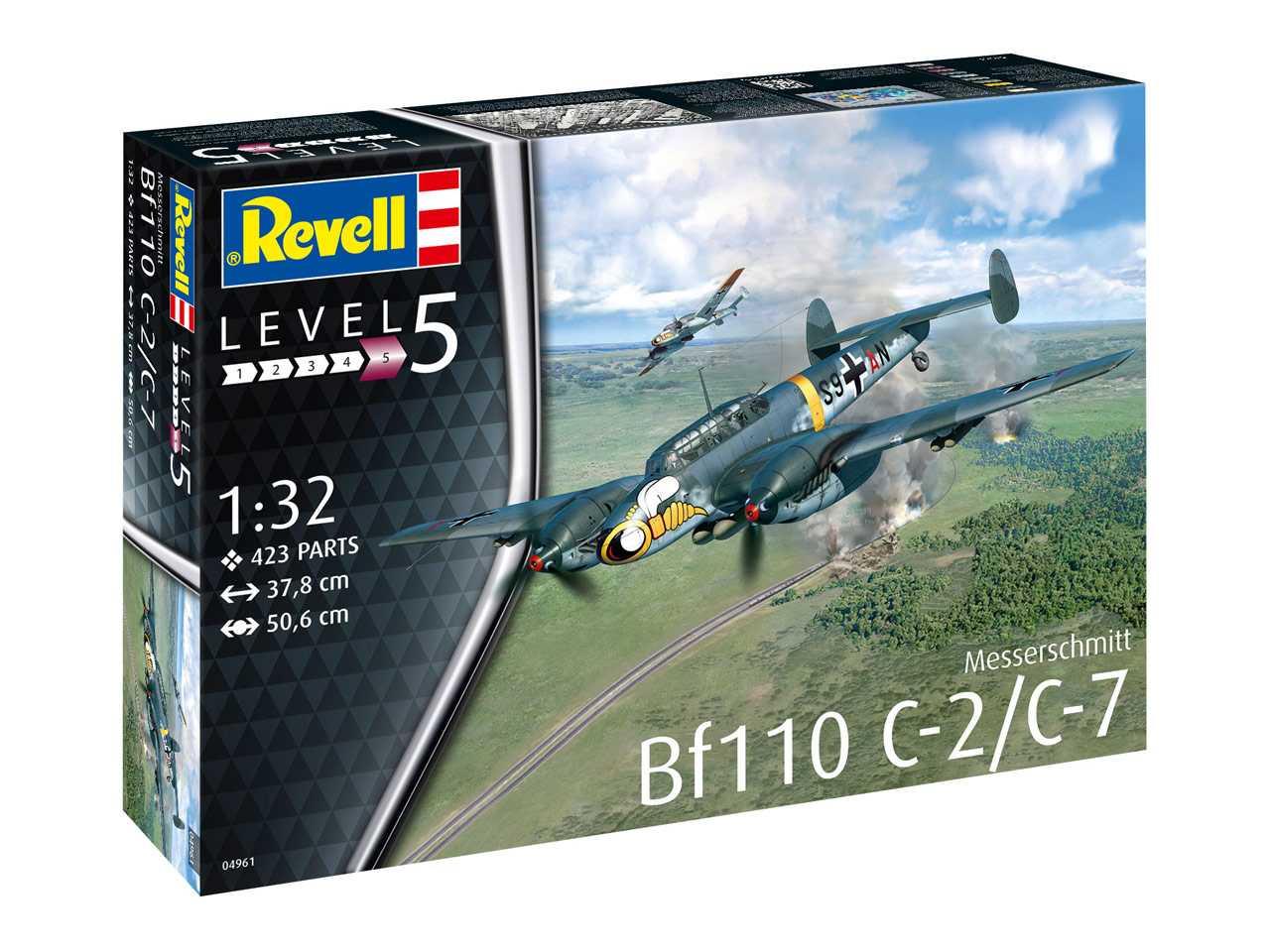 1:32 Messerschmitt Bf 110 C-2/C-7
