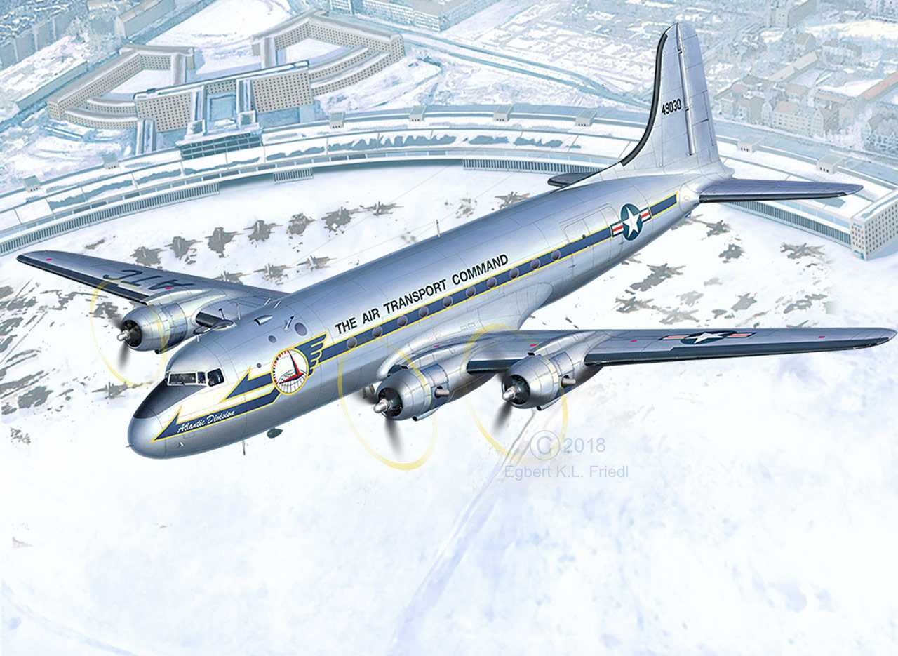 1:72 C-54D Skymaster, 70th Anniversary Berlin Airlift