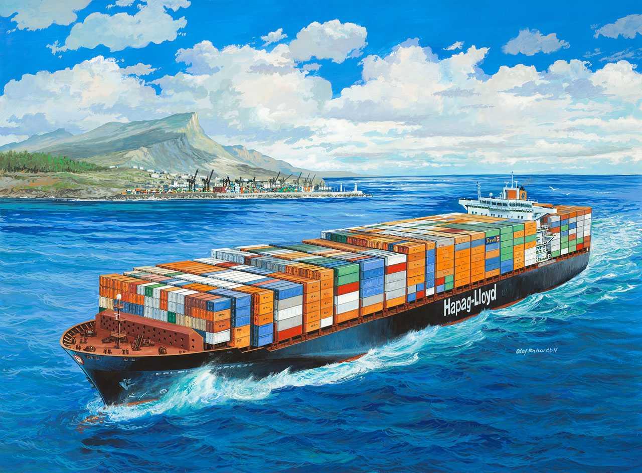 Revell kontejnerová loď Colombo Express (1:700)