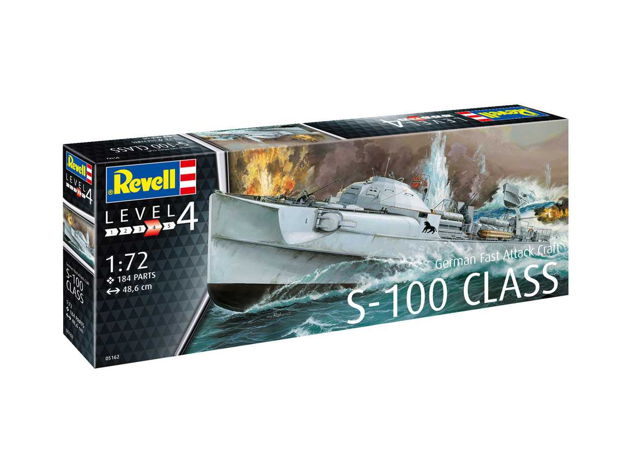 1:72 German Fast Attack Craft S-100 Class