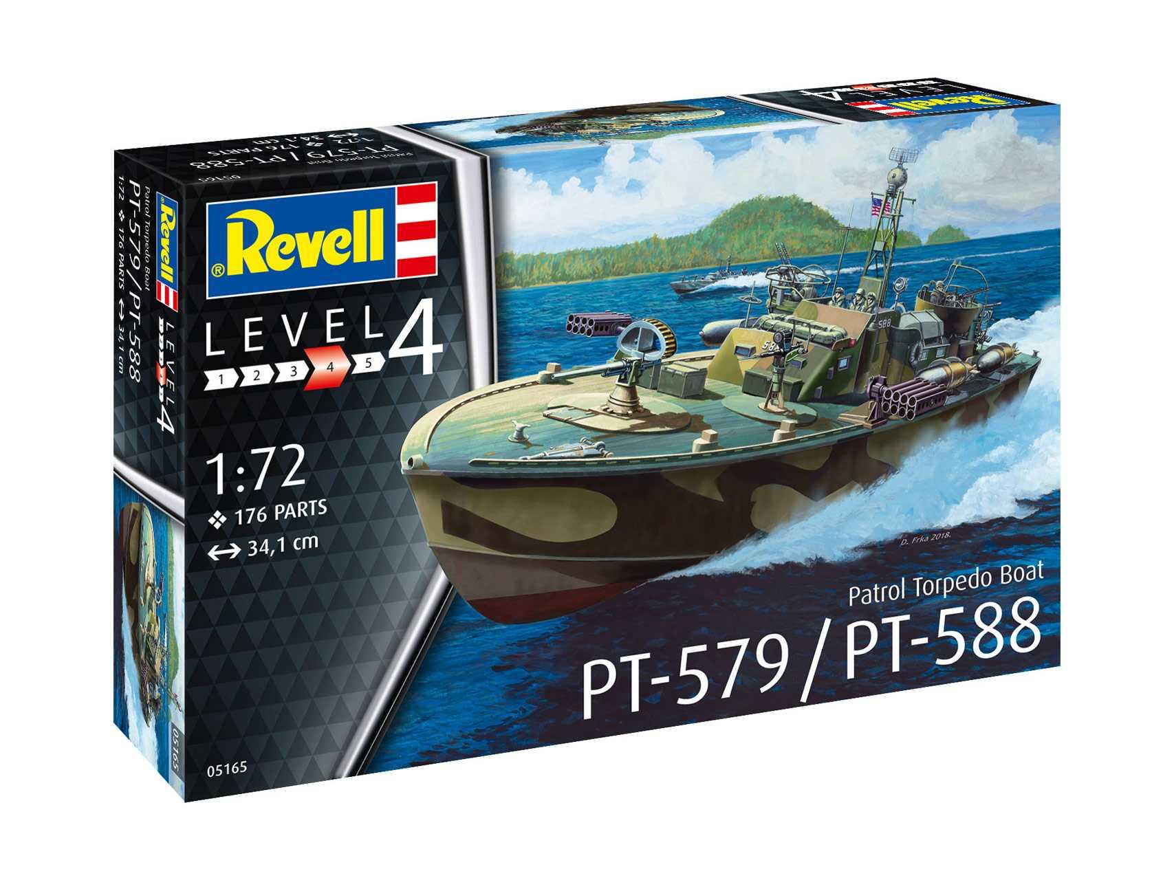 1:72 Patrol Torpedo Boat PT-588/PT-579