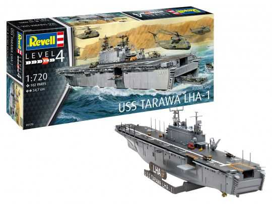1:720 Assault Ship USS Tarawa LHA-1