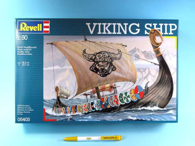1:50  Vikingská loď