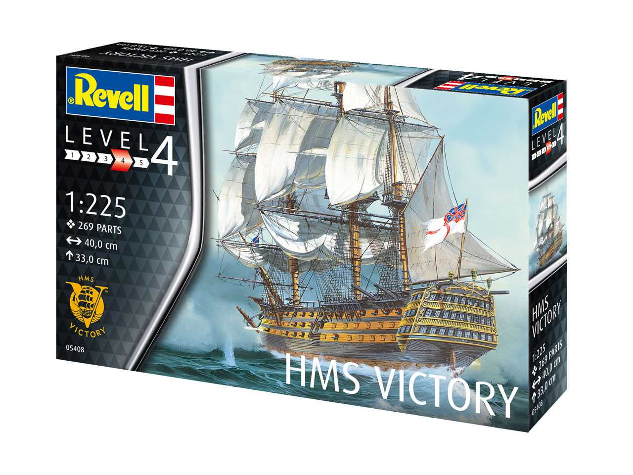 1:225 H.M.S. Victory
