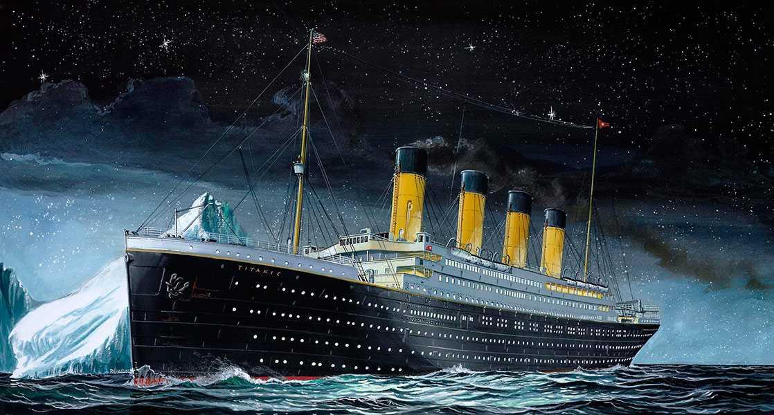 Revell R.M.S. Titanic (1:1200)
