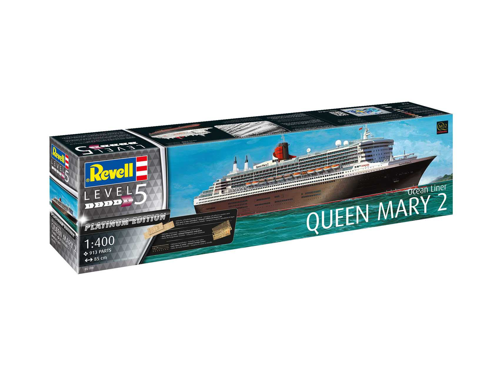 1:400 Queen Mary 2 (Platinum Edition)
