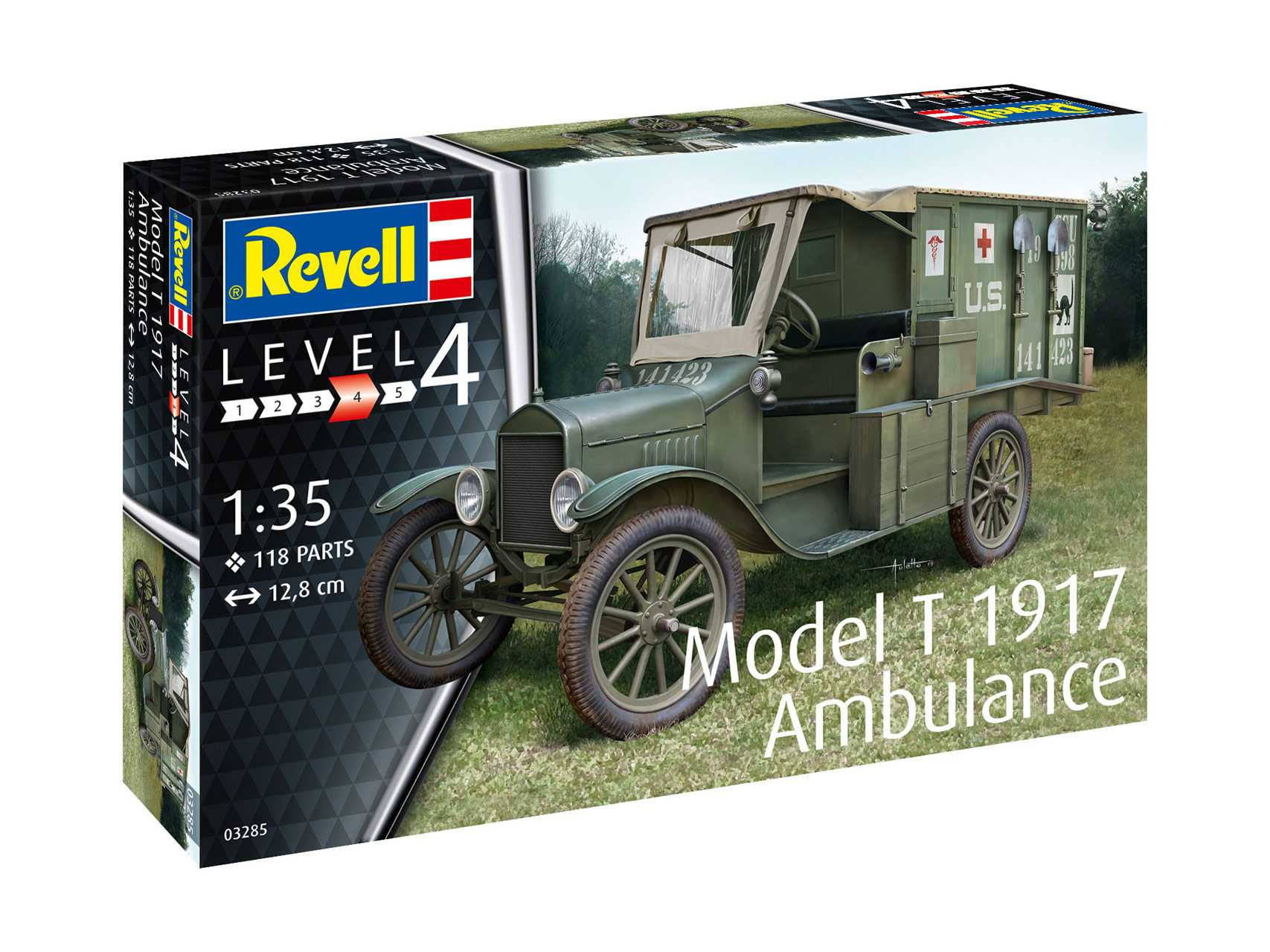 1:35 Ford Model T Ambulance (1917)
