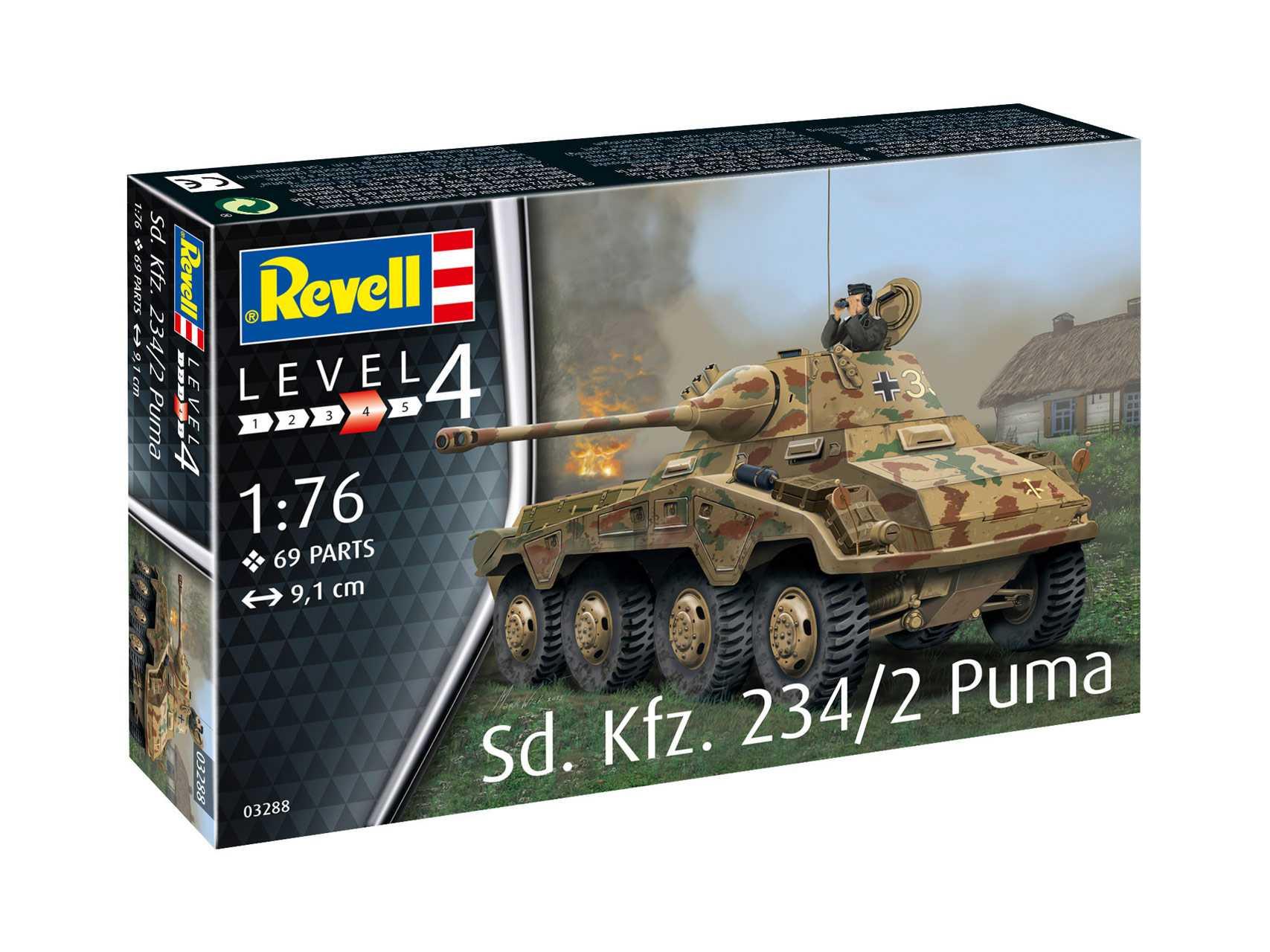 Náhľad produktu - 1:76 Sd.Kfz. 234/2 Puma