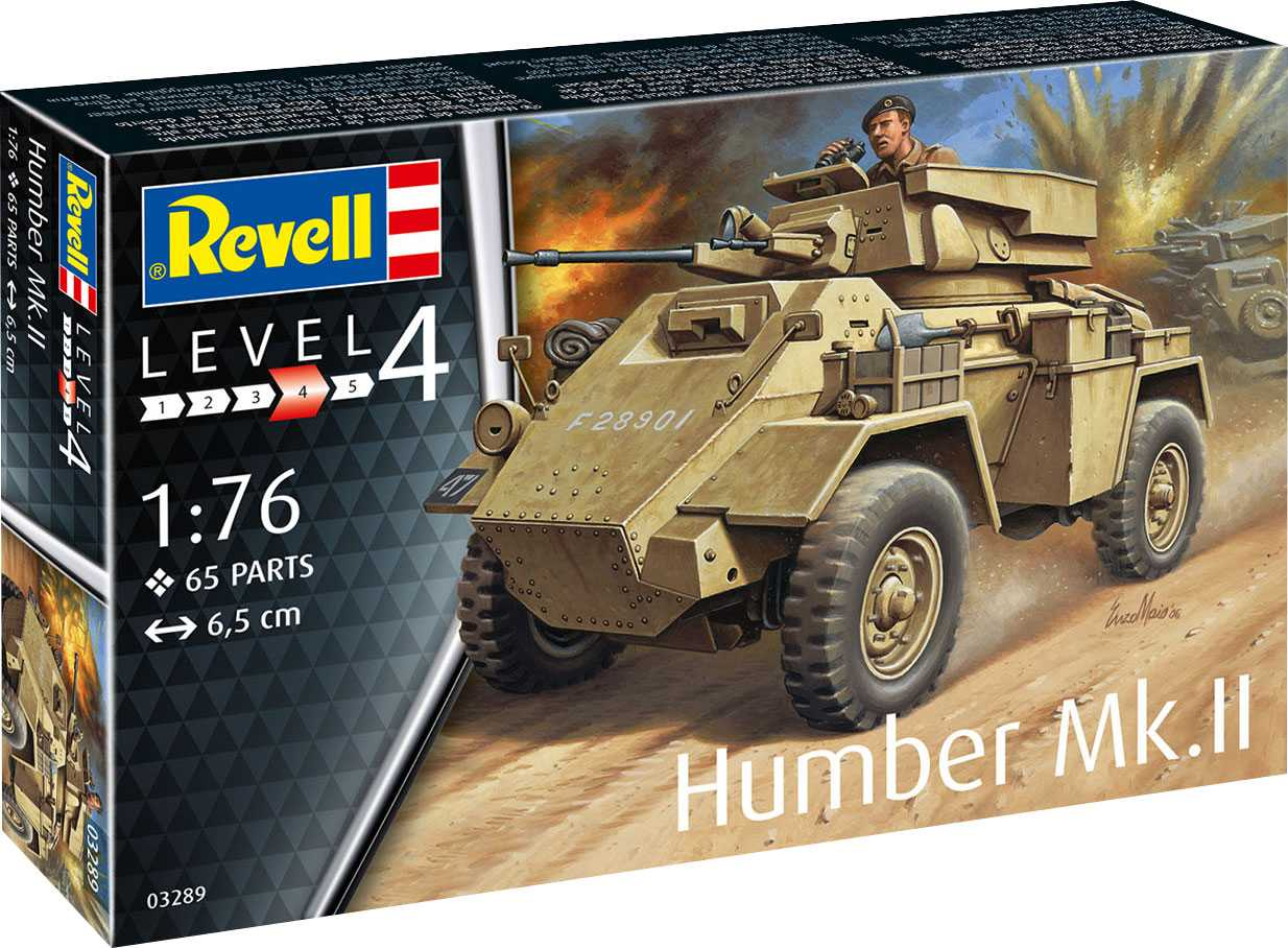 1/76 Plastikový model - military 03289 - Humber Mk.II