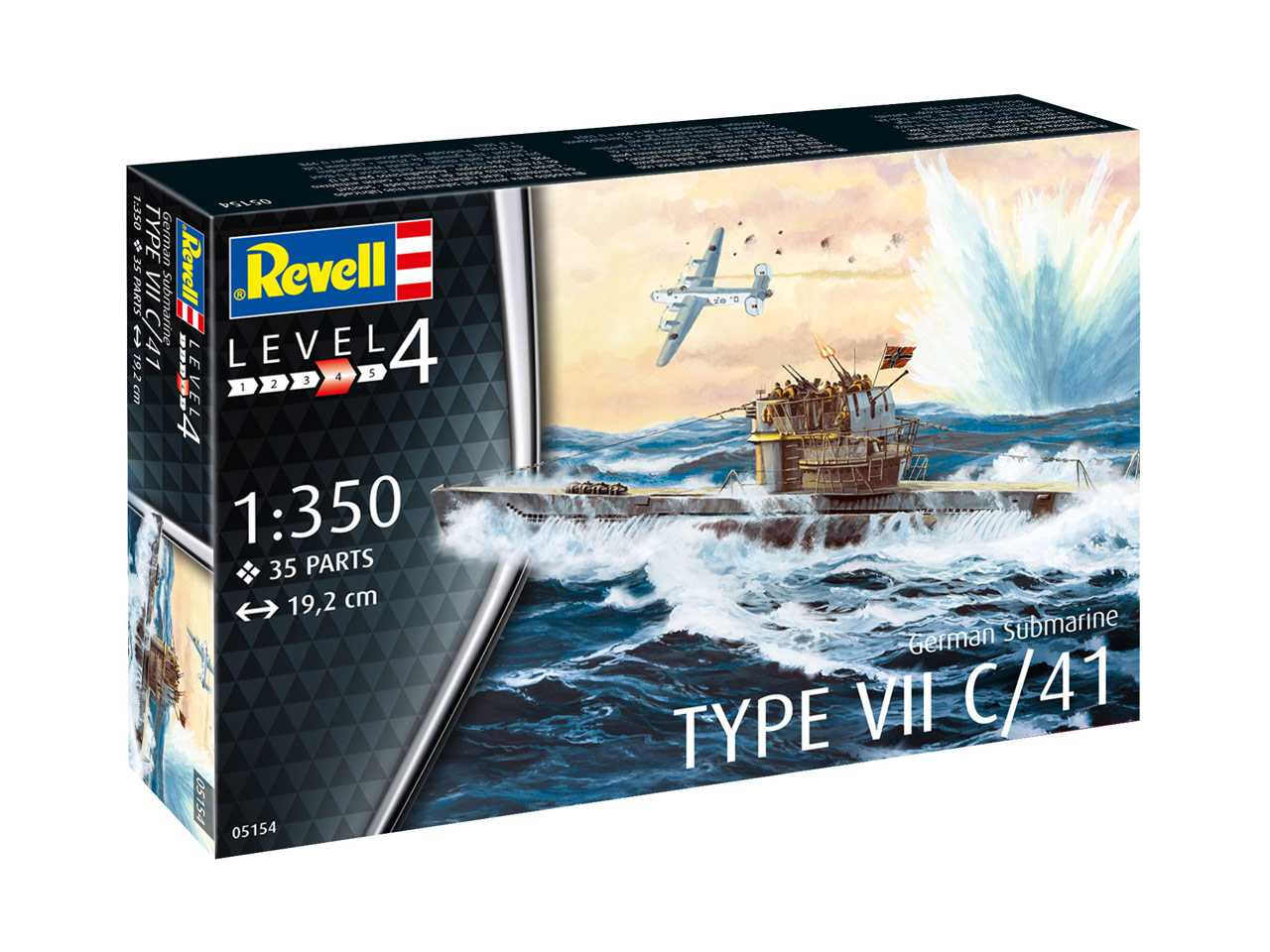 1:350 German Submarine Type VII C/41