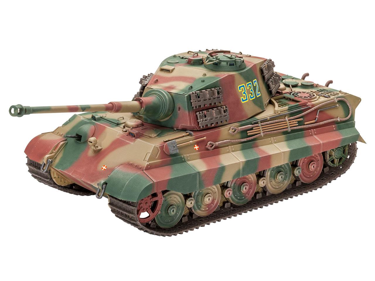 1:35 Tiger II Ausf.B (Henschel Turret)