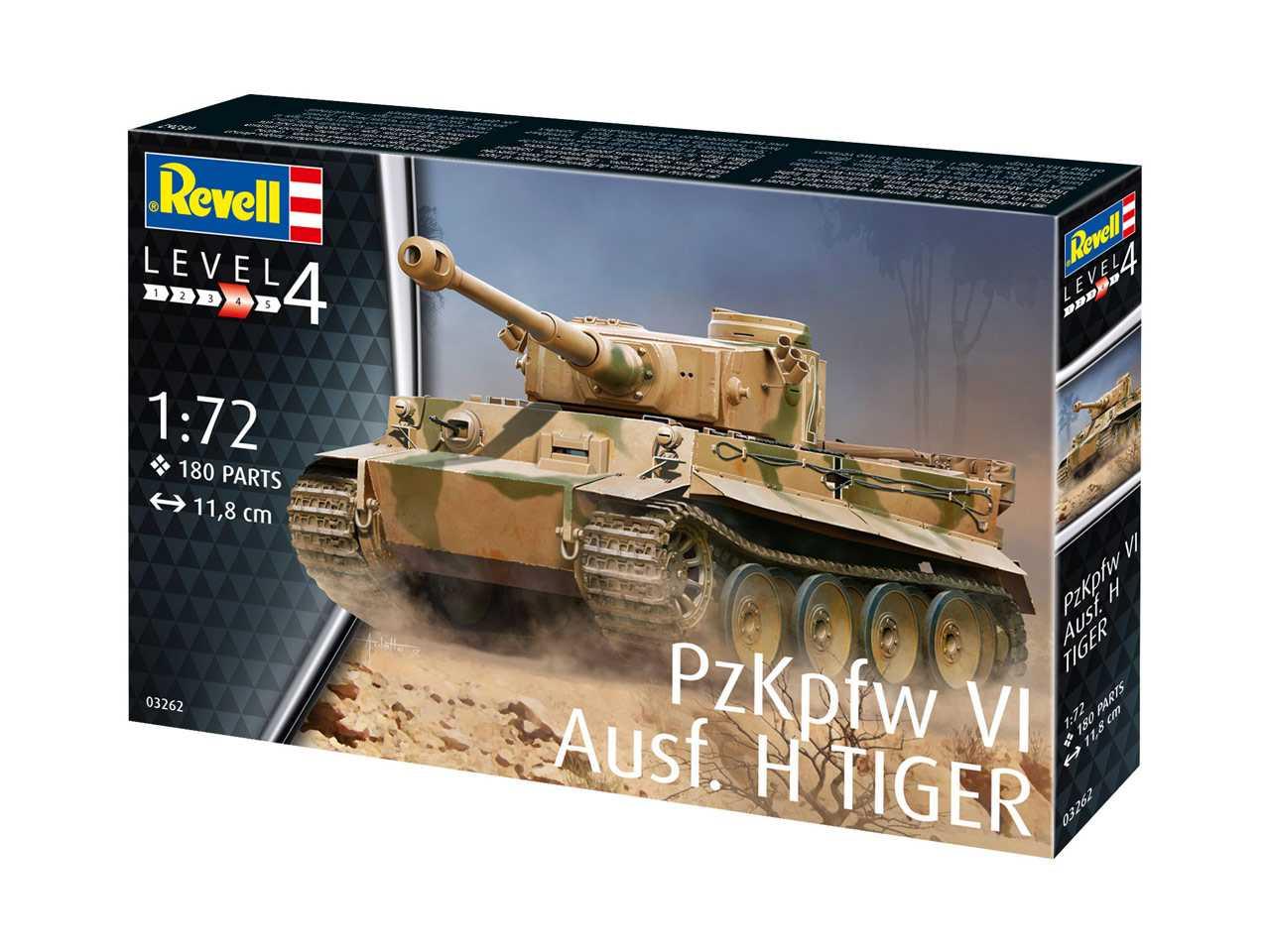 1 72 Pz Kpfw Vi Ausf  H Tiger