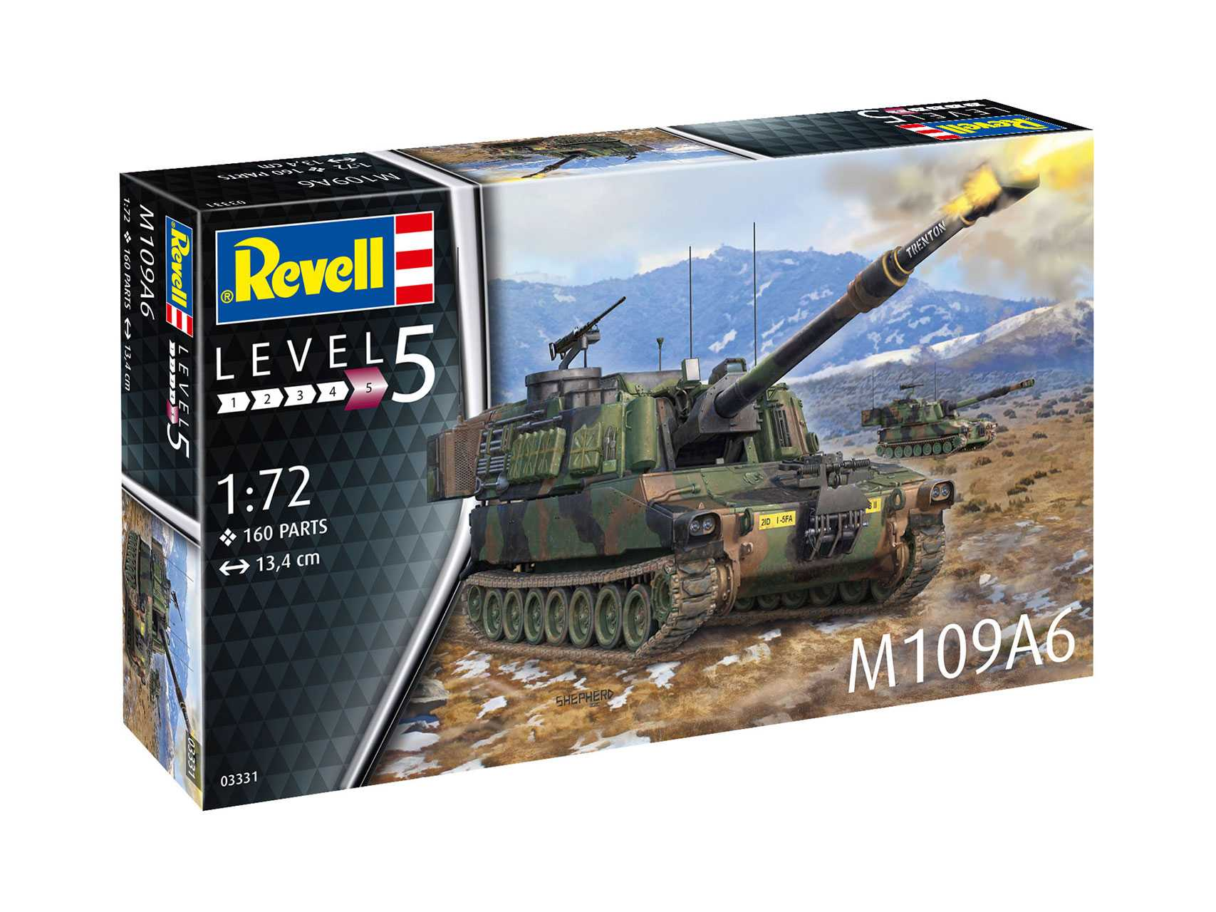 1:72 U.S. Self-Propelled Howitzer M109A6 Paladin