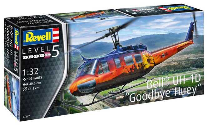 1:32 Bell UH-1D ″Goodbye Huey″ (Limited edition)