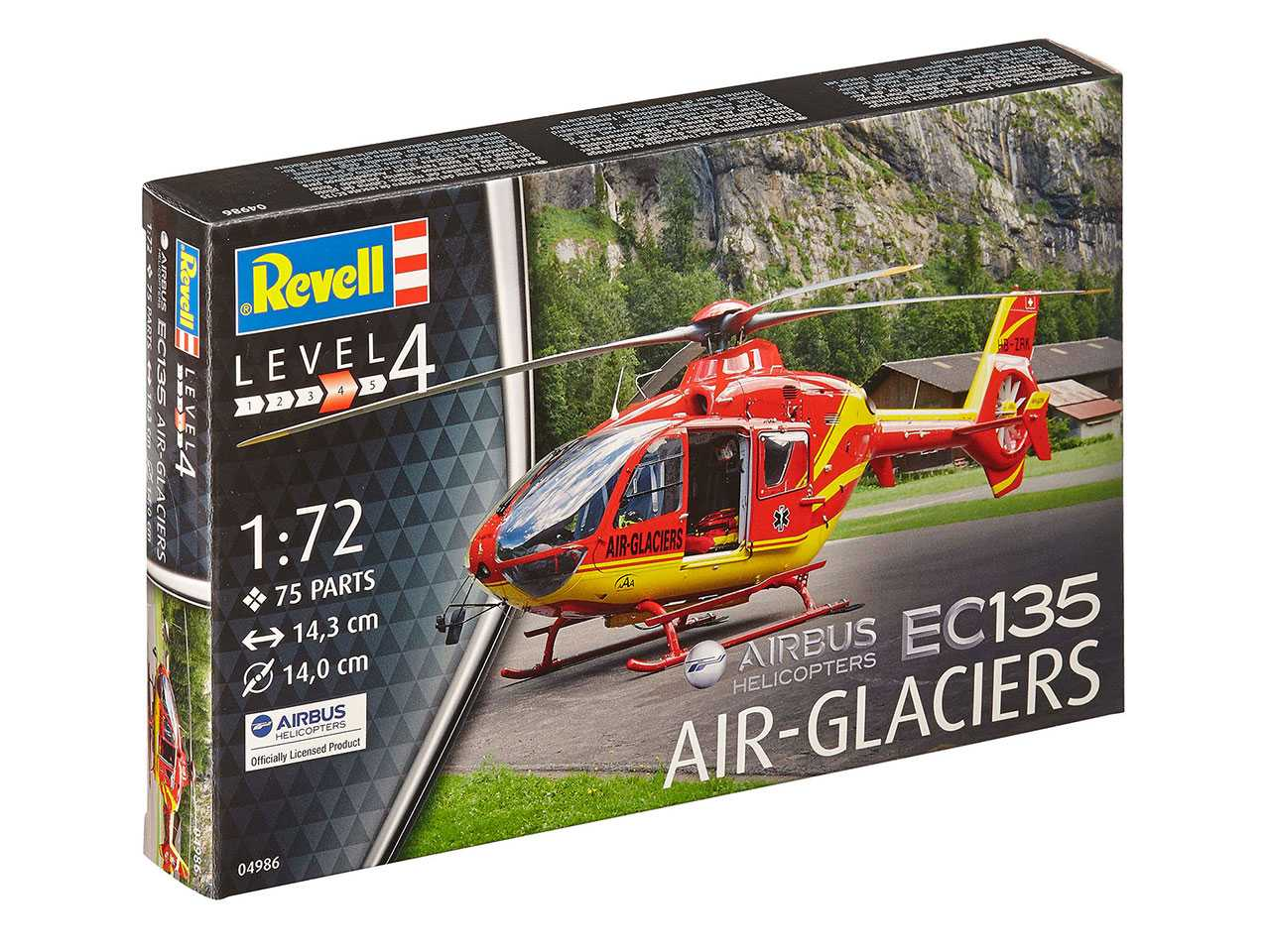 1:72 EC 135 Air Glaciers