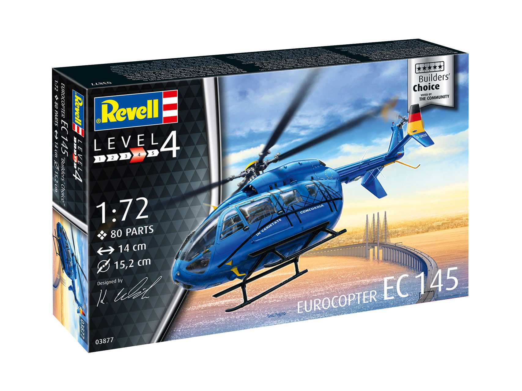 1:72 Eurocopter EC 145 ″Builder's Choice″