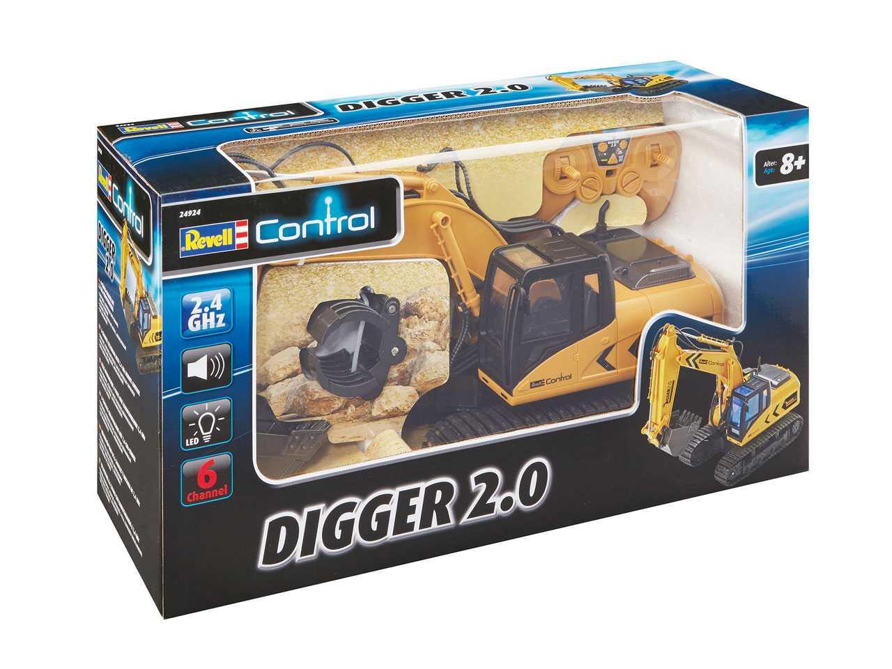 Pásové rypadlo Revell Digger 2.0 2,4GHz