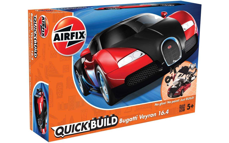 QUICK BUILD Bugatti Veyron 16.4 (Red)