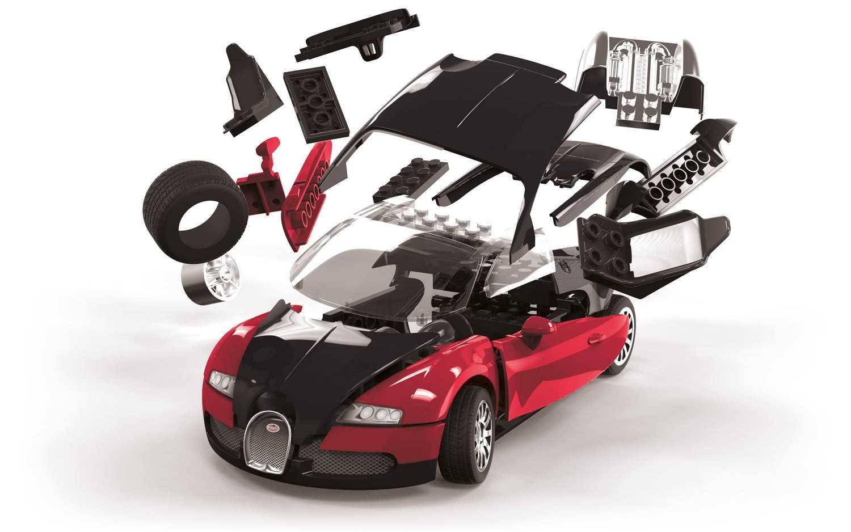 QUICK BUILD Bugatti Veyron 16.4 (červený)