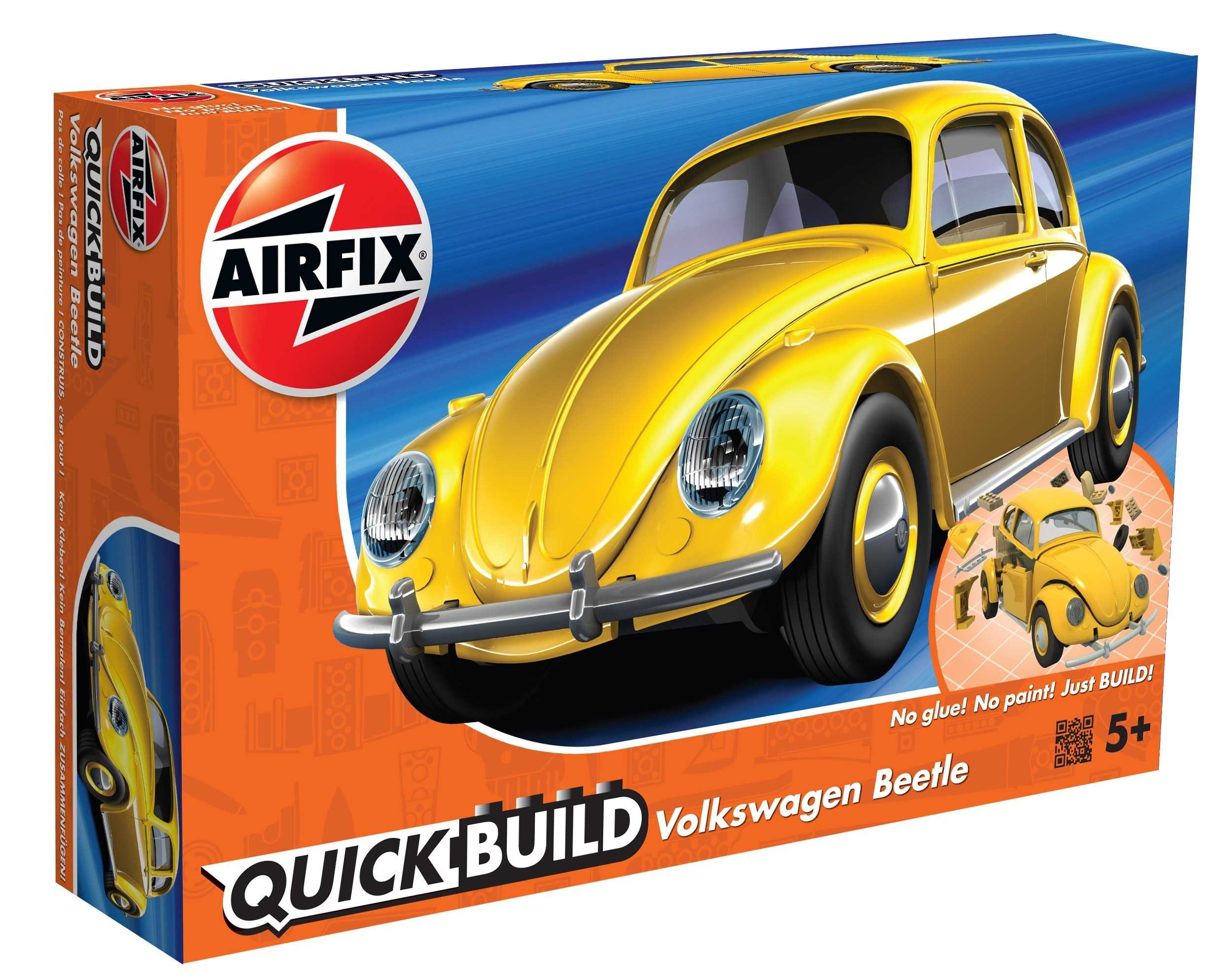 QUICK BUILD VW Beetle - žltá