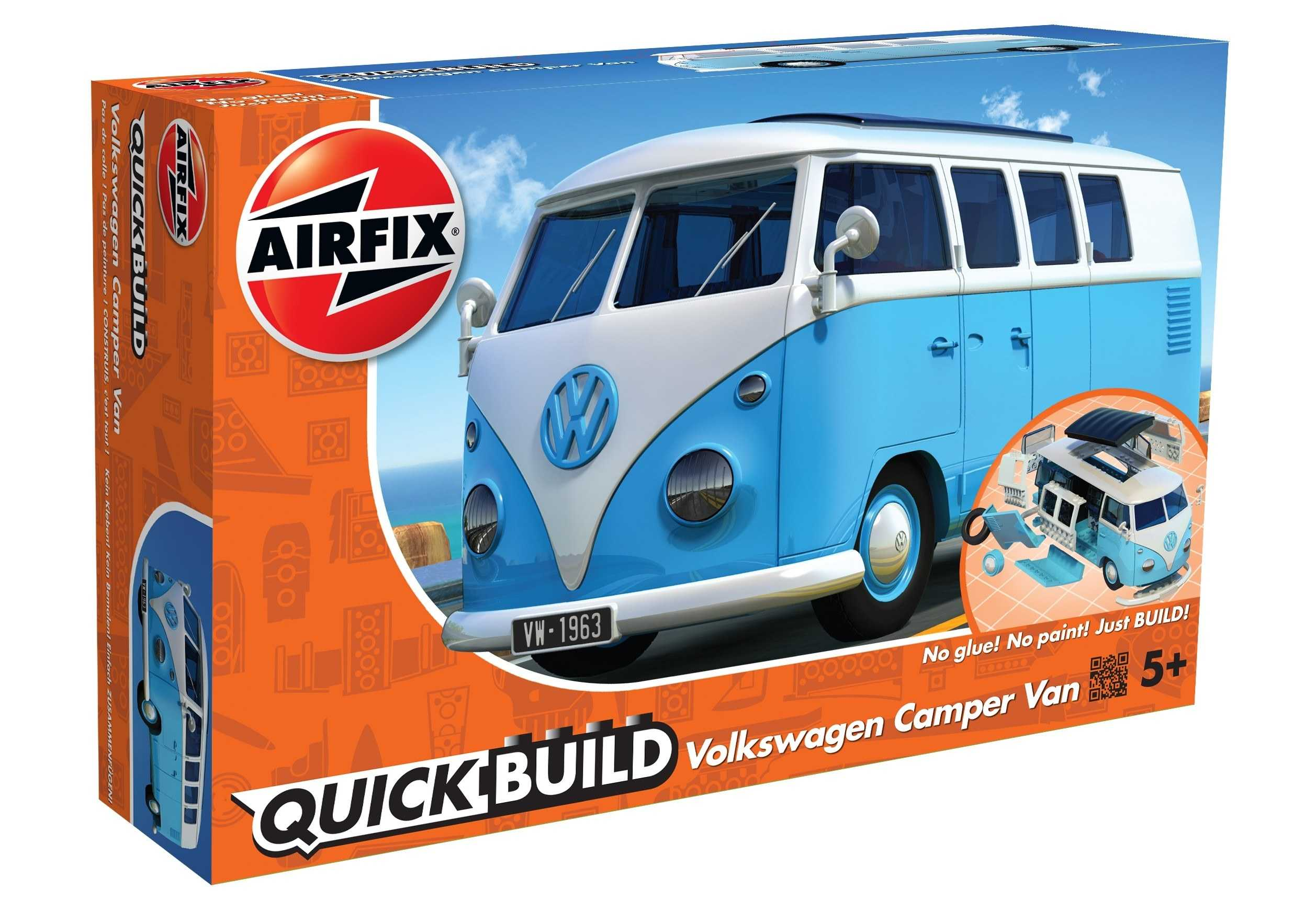 QUICK BUILD  VW Camper Van  modrá