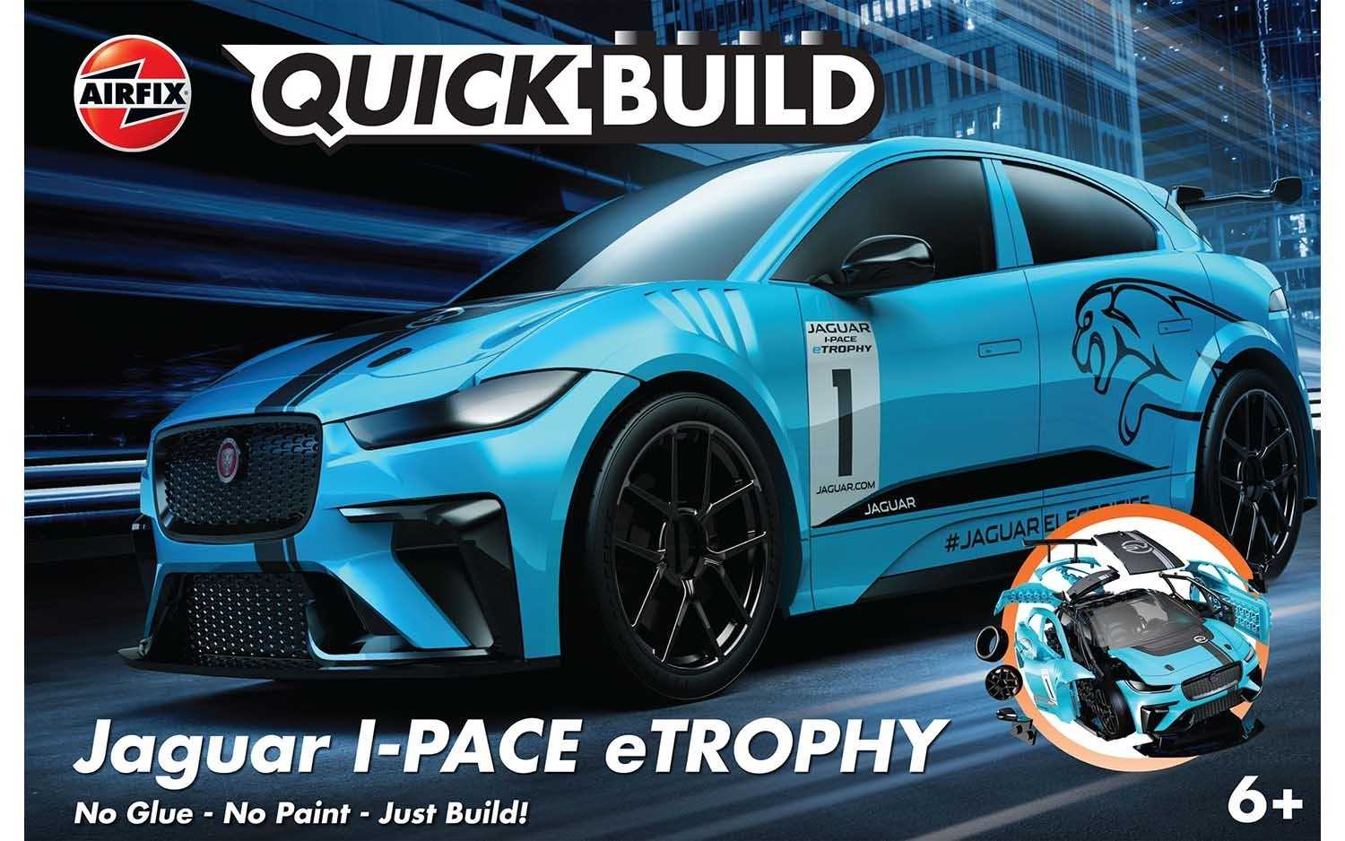 QUICK BUILD Jaguar I-PACE eTROPHY