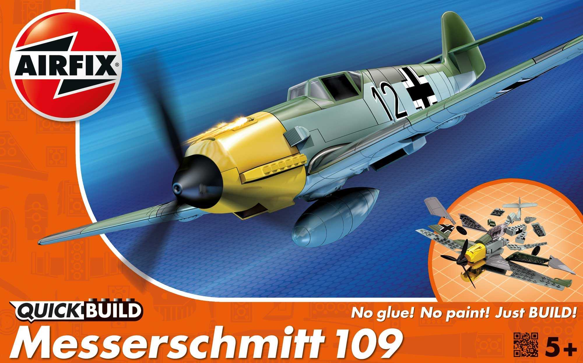 QUICK BUILD Messerschmitt Bf 109