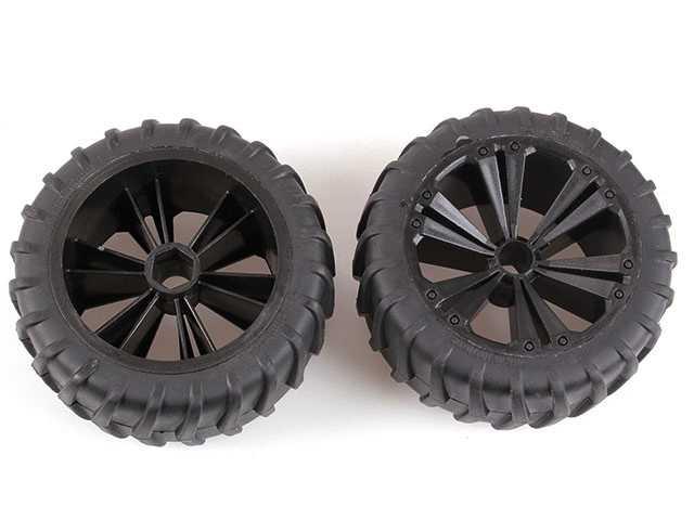 REVELL - REVELLUTIONS (47036) - Set 2x Wheel for Monster, black