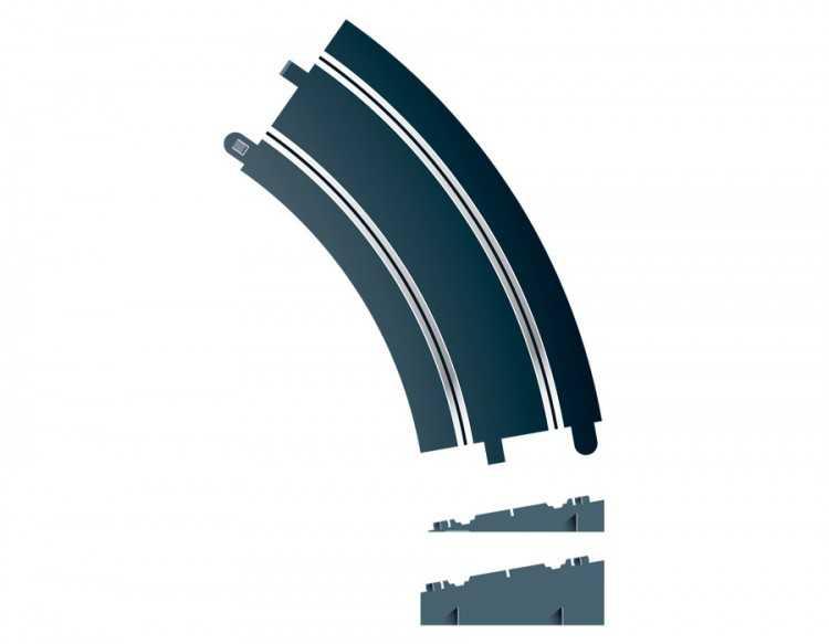 Rozšíření trati SCALEXTRIC C8297 - Banked Curve R3 45°