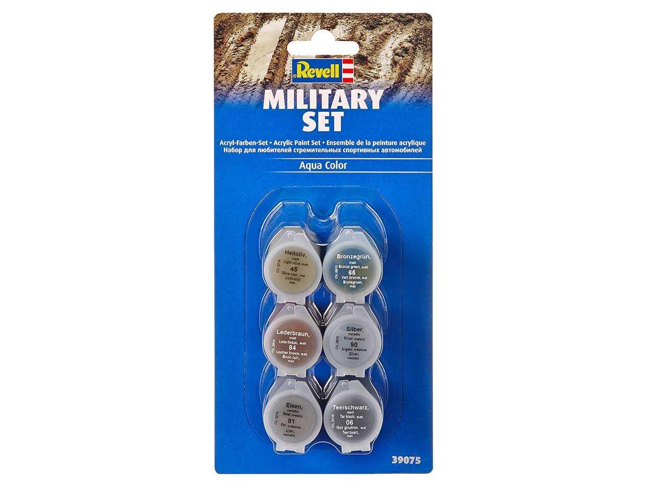 Sada barev Aqua Color 39075 - Military Set