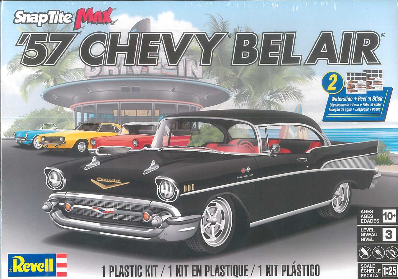 1:25 Chevy Bel Air 1957 (Snap Tite)