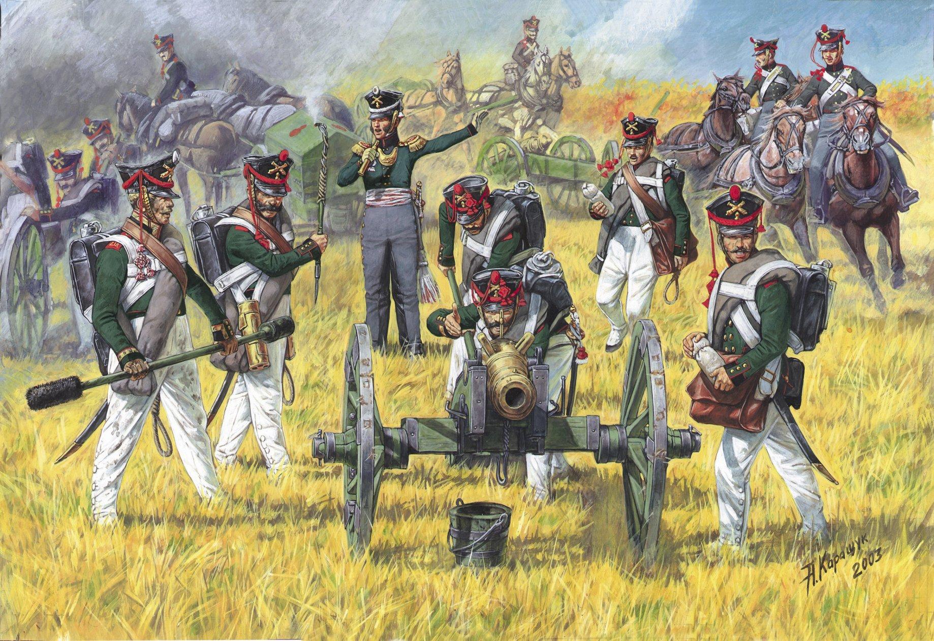 1:72 Russian Foot Artillery (1812-1814)