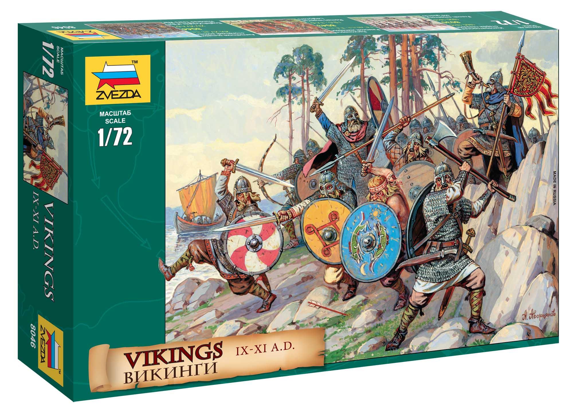 1:72 Vikingové