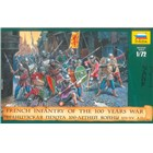 Wargames (AoB) figurky 8053 - French Infantry of the 100 Years War (1:72)