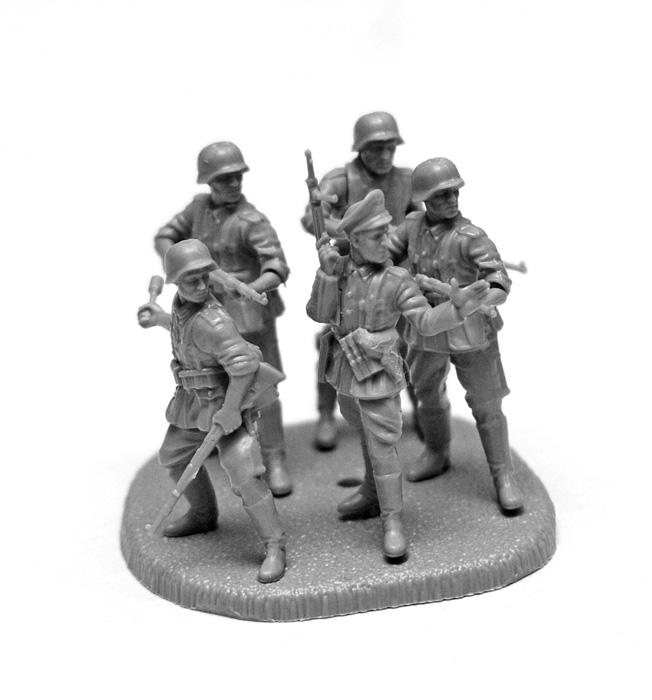 Zvezda figurky German Regular Infantry 1939-43 (1:72)