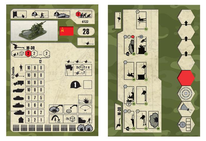 1:72 Sovietská húfnica 122 mm + posádka